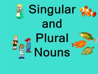 Kata benda tunggal dan jamak (Singular dan Plural Noun)