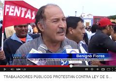 EN TRUJILLO LA PROTESTA UNITARIA TAMBIÉN SE HACE SENTIR