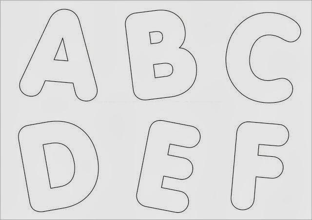Moldes de Letras - Letras para Mural
