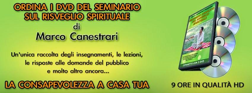 ORDINA I 3 DVD DEL SEMINARIO COMPLETO <br>SUL RISVEGLIO SPIRITUALE