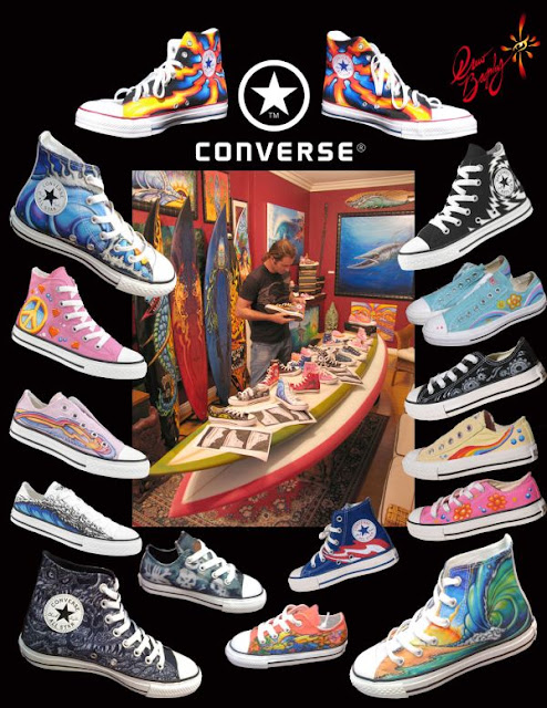 Drew Brophy surf lifestyle artist converse sneaker licensing