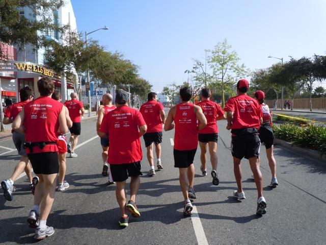 AIDS Walk LA 2011 T2 runners