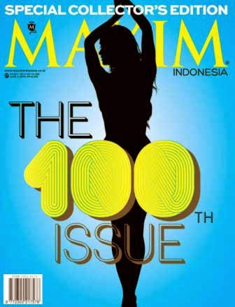 "MAXIM Indonesia Special Collector's Edition ""The 100th Issue"""