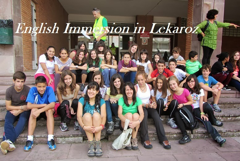 English Immersion in Lekaroz