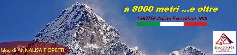 a 8000 metri ...e oltre