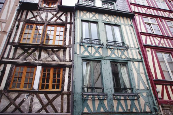 aliciasivert, alicia sivertsson, rouen, france, half-timbered house, frame house, frankrike, hus, korsvirkeshus