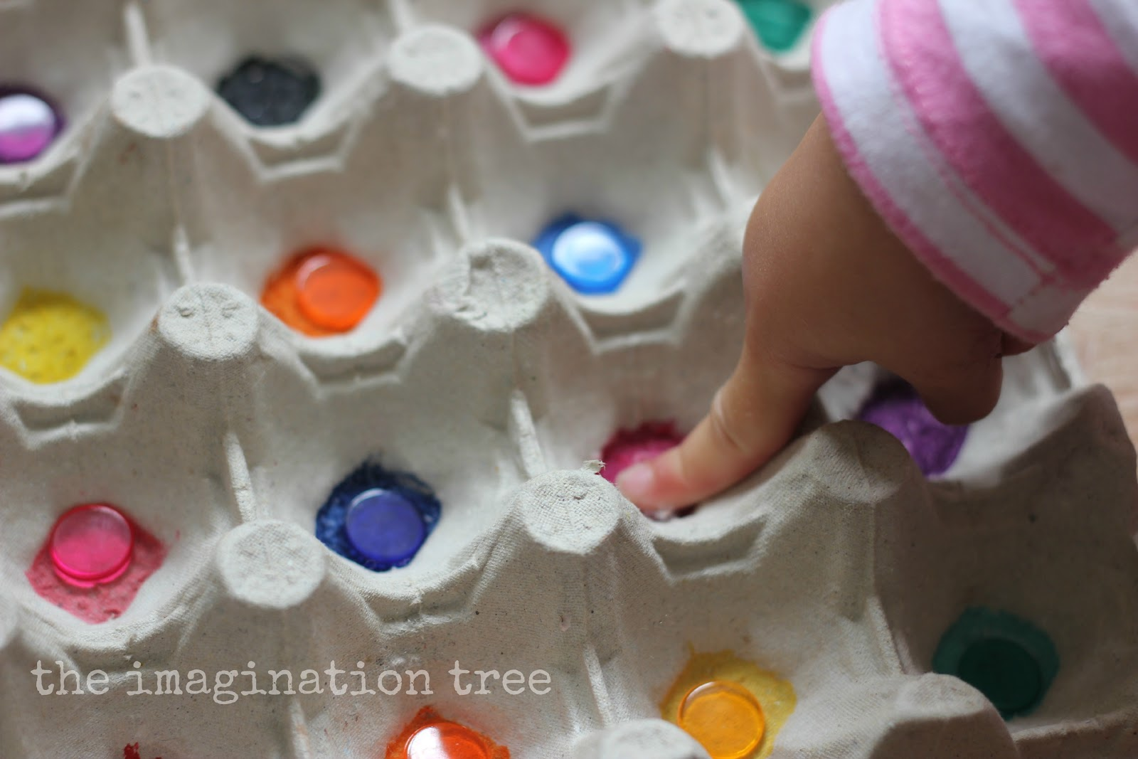 Egg Carton Colour Sorting Egg Carton Colour