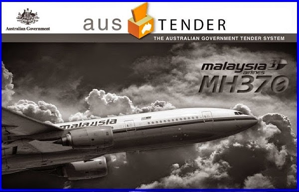 MH370 : Tender Terbuka Pencarian Pesawat Dasat Laut Dibuka