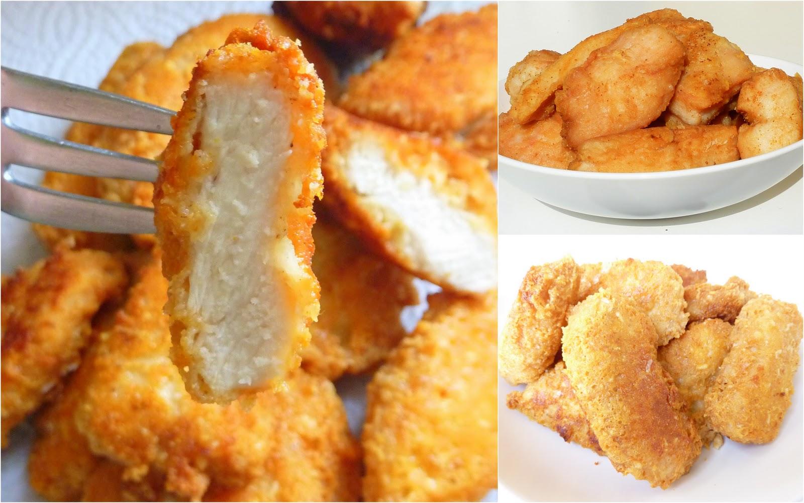 Домашние куриные наггетсы рецепт американская кухня 50