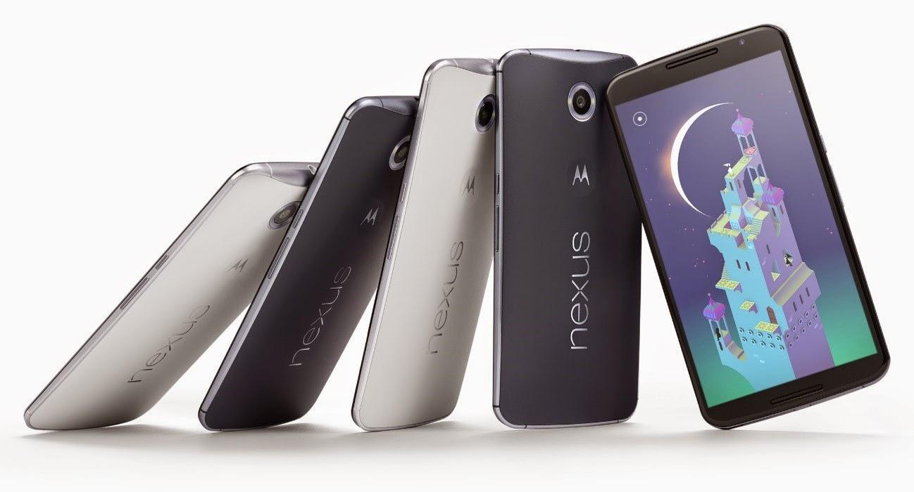 Nexus 6 de Google y Motorola