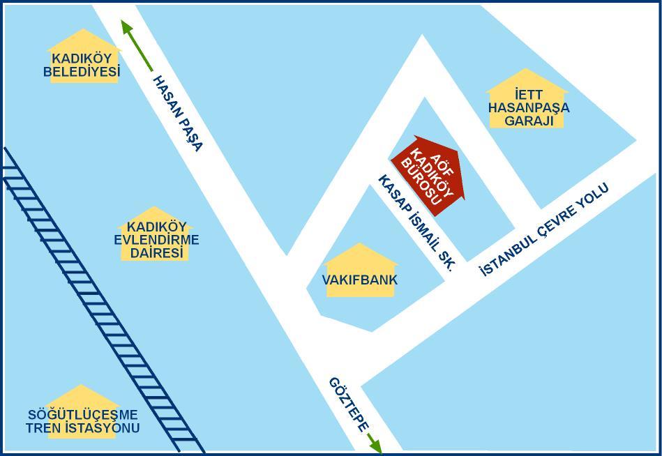 İstanbul Kadıköy AÖF Büro Telefon Numarası ve Adresi