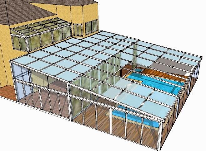 Aluminio cierres de maxima calidad en viviendas de lujo for Techos moviles para terrazas precios