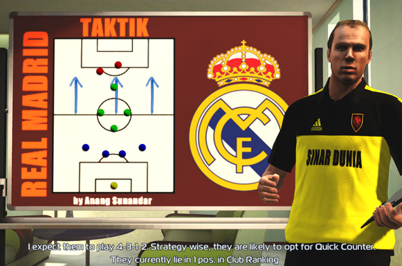 Download Manager Room Real Madrid PES 2013