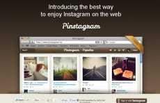 Pinstagram: Instagram + Pinterest
