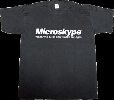 microsoft skype t-shirt ephemeral-t-shirts