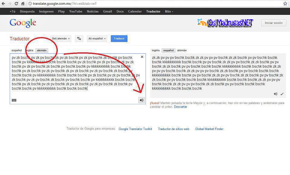 Traductor Google Tradutor
