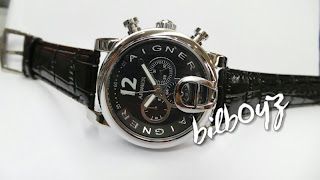 aigner bari matic leather