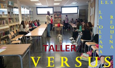 """Taller """"Versus"""". I.E.S, La Oleana, Rerquena"""