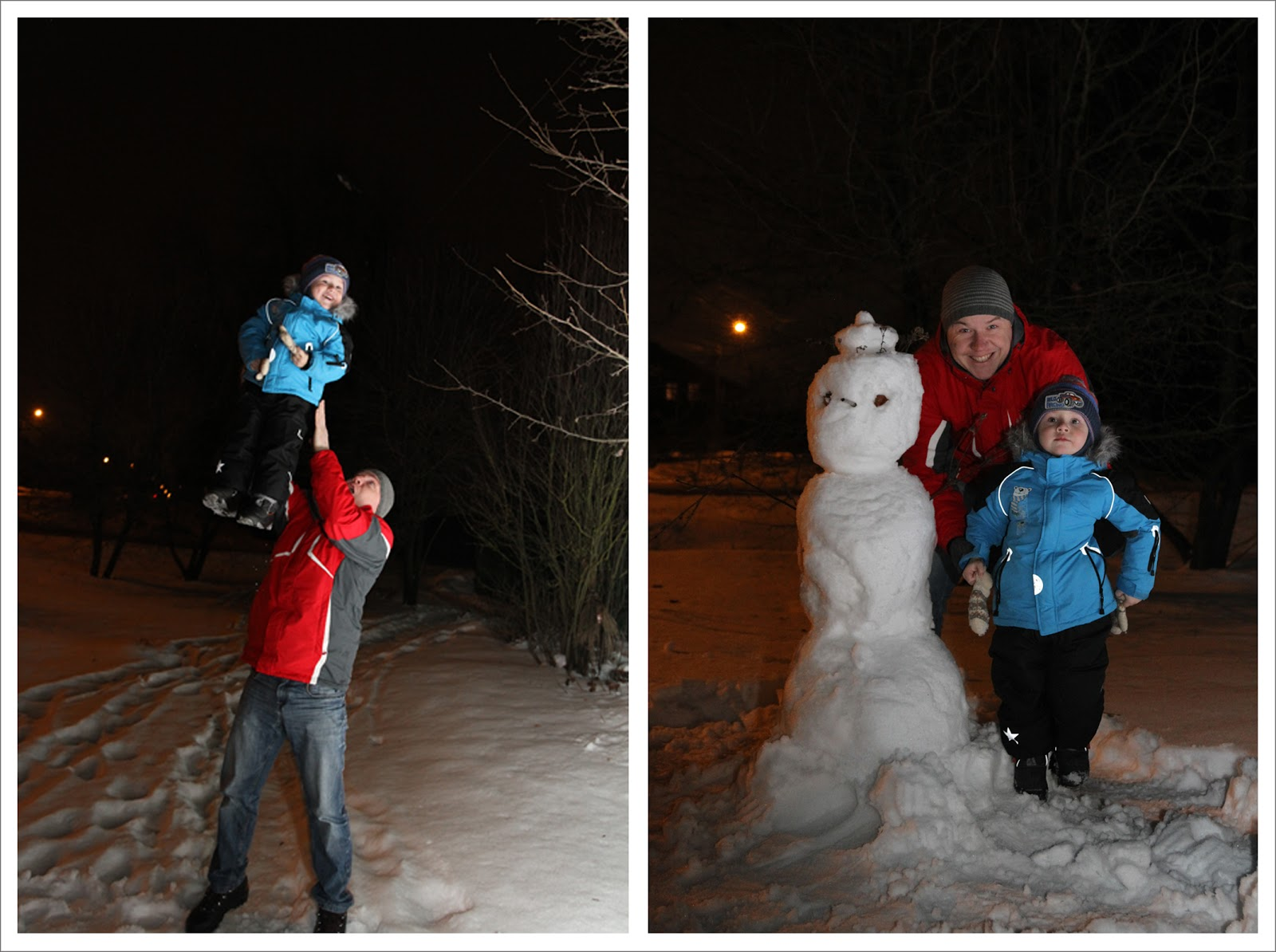 строим снеговика