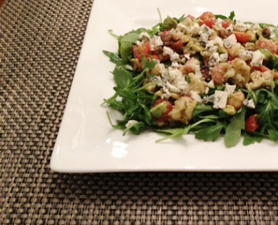 barefoot contessa Lobster Cobb Salad With Vegan Bacon
