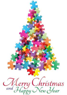 Ilustracion de Arbolito de Navidad con mensaje para compartir