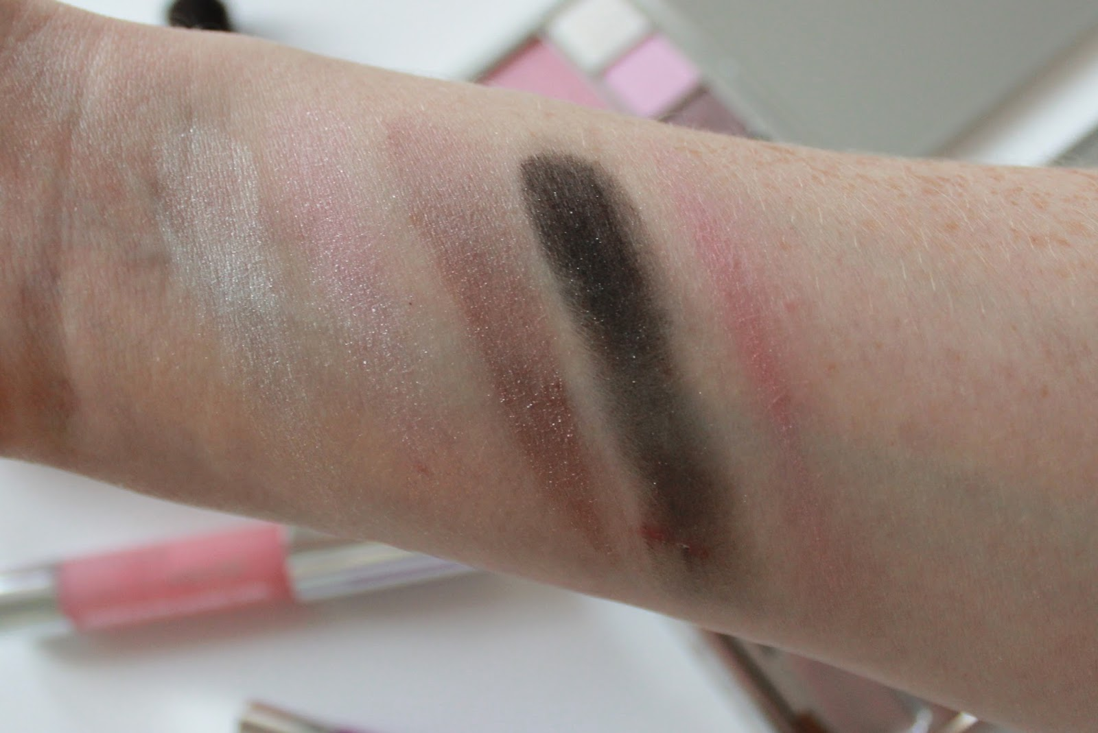 Clinique the nutcracker suite makeup collection swatches
