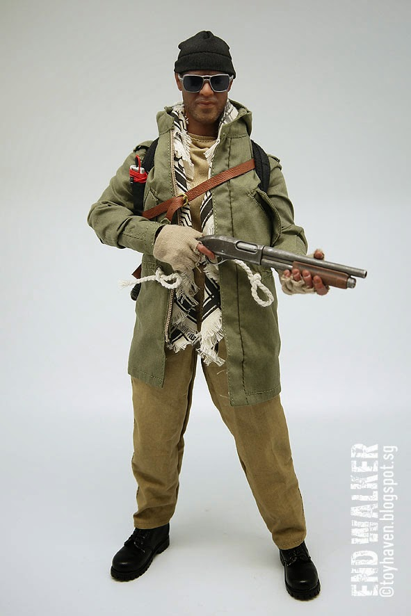 1//6 Scale MC Toys F-034 THE END WALKER Head Sculpt Denzel Washington Book Of Eli
