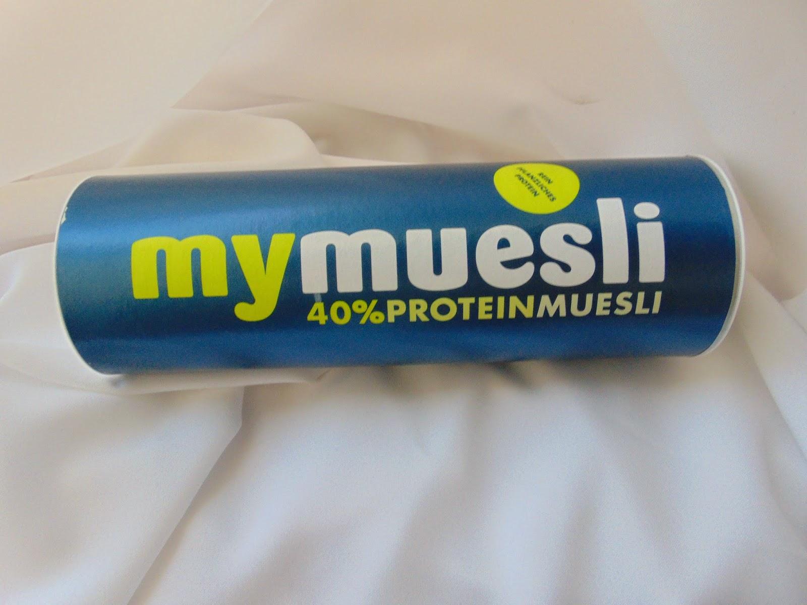 My Muesli - Glamour Shopping Week  - Protein Müsli - www.annitschkasblog.de