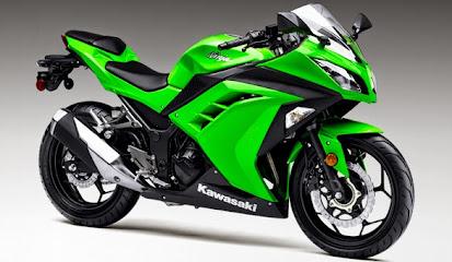 Koleksi Foto dan Gambar Motor Kawasaki Ninja 300 Terbaru