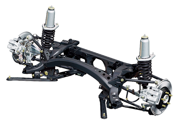 Mazda MX-5 Roadster NC Rear Suspension