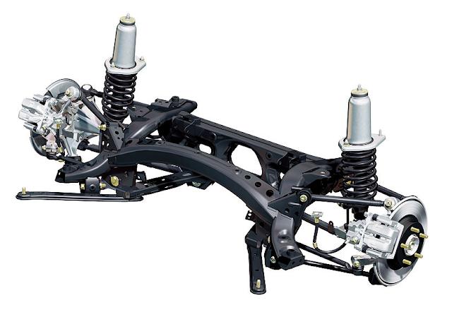Mazda MX-5 Roadster NC Rear Suspension