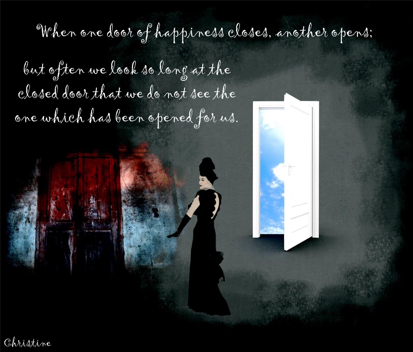 Look for the open door & Image Wings: Look for the open door