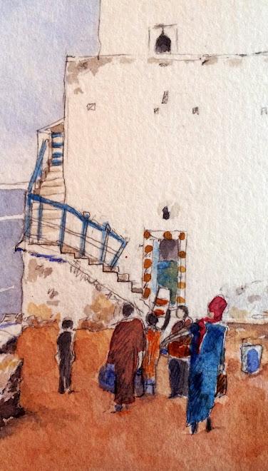 Carnet de voyage Essaouira, Maroc