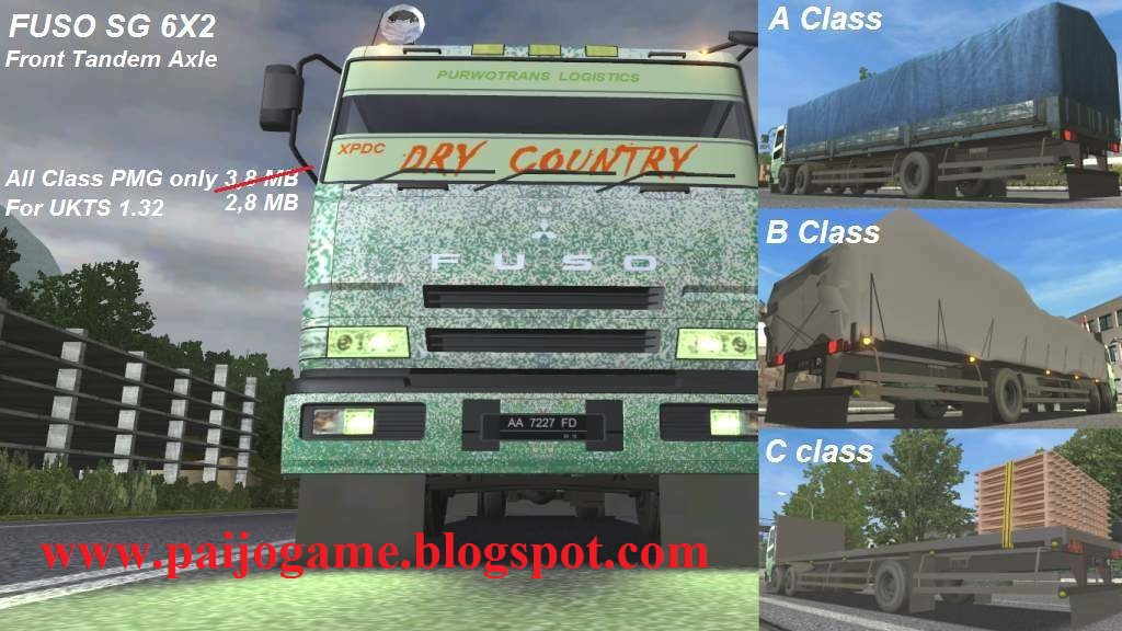 Download UK-Truck Simulator Version 1.32 With Indonesia ...