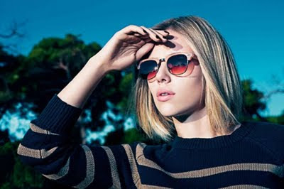 Scarlett Johansson: Mango Fall Winter Campaign 2011 - Glasses