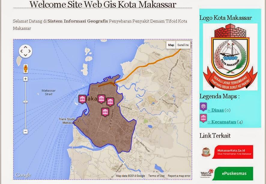 sistem  rmasi geografis berbasis web penyebaran