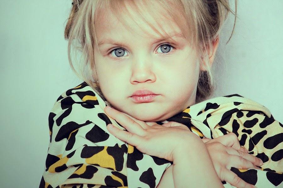 صورة لطفلة جميلة