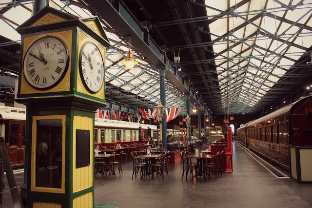 york railway museum vintage cafe