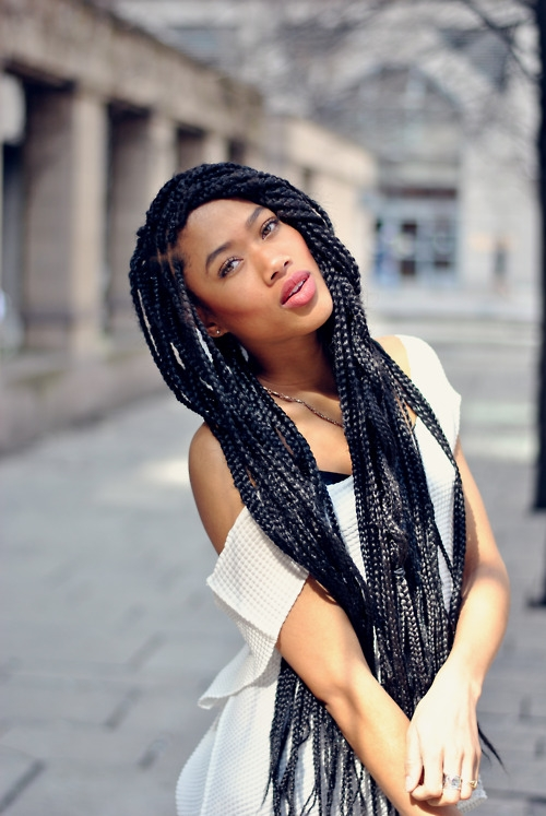 What are Chunky Braids, Solange Braids or Poetic Justice Braids?