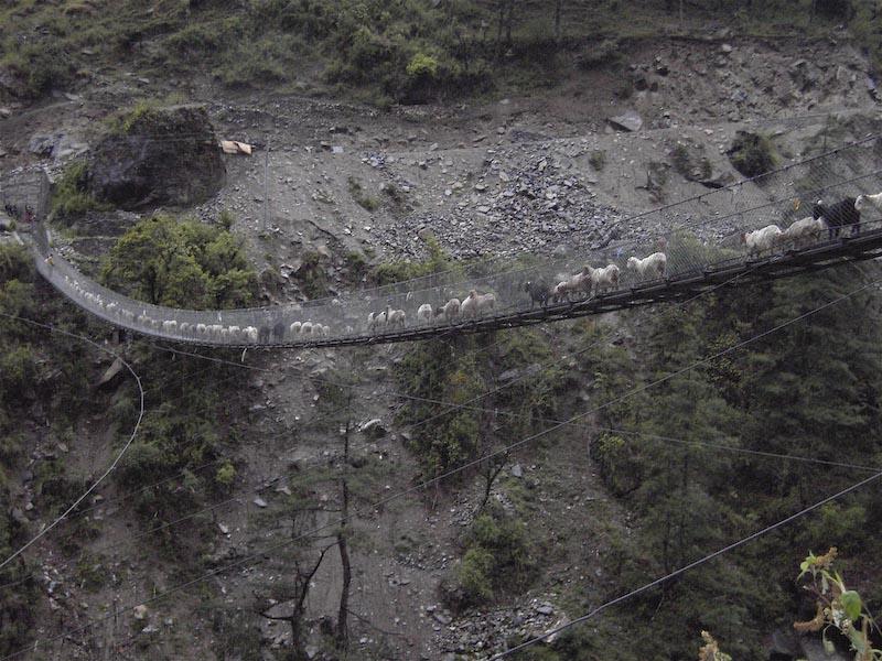 Mountain Dangerous Bridges Pictures