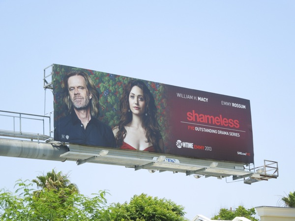 Shameless Showtime Emmy billboard 2013
