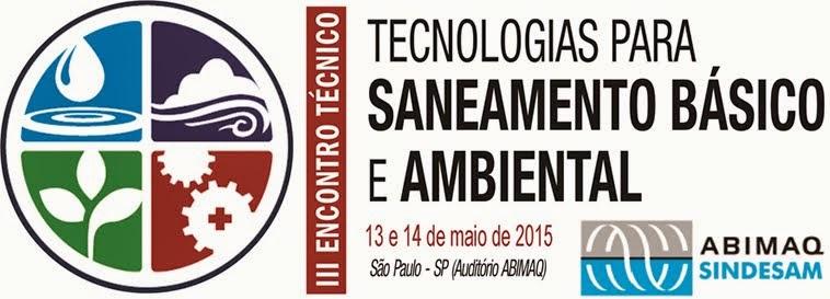 III Encontro Técnico SINDESAM – ABIMAQ