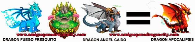 como obtener el dragon apocalipsis en dragon city formula 1