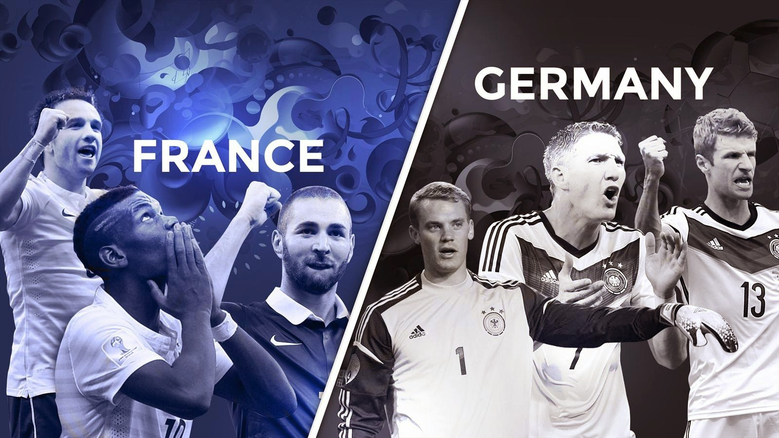France vs Germany HD Wallpapers