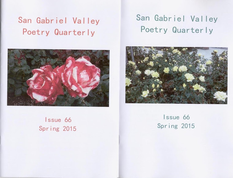 San Gabriel Valley Poetry Quarterly Spring 2015