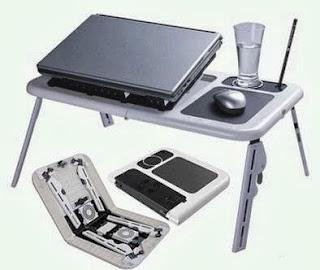 Meja Laptop Portable Lipat - Praktis & Nyaman Digunakan