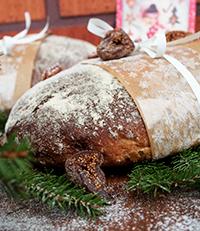 Viikuna-   pekaanileipä