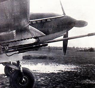 37-миллиметровая пушка ШФК-37 под ил-2