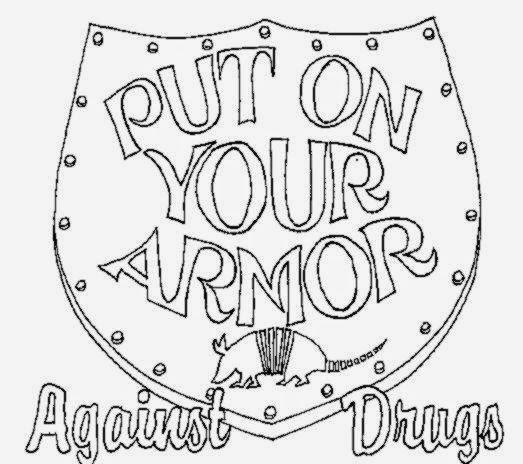 Drug Free Coloring Sheets