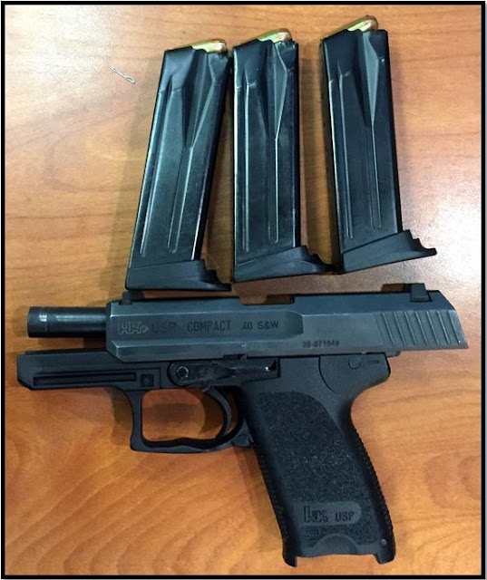 The firearm pictured above was discovered in a carry-on bag at ATL.